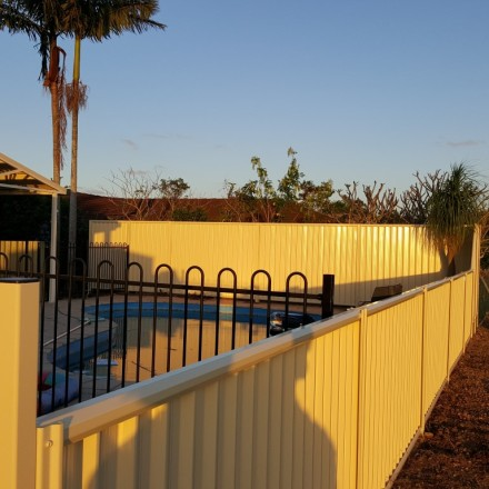 Colorbond Pool Fencing