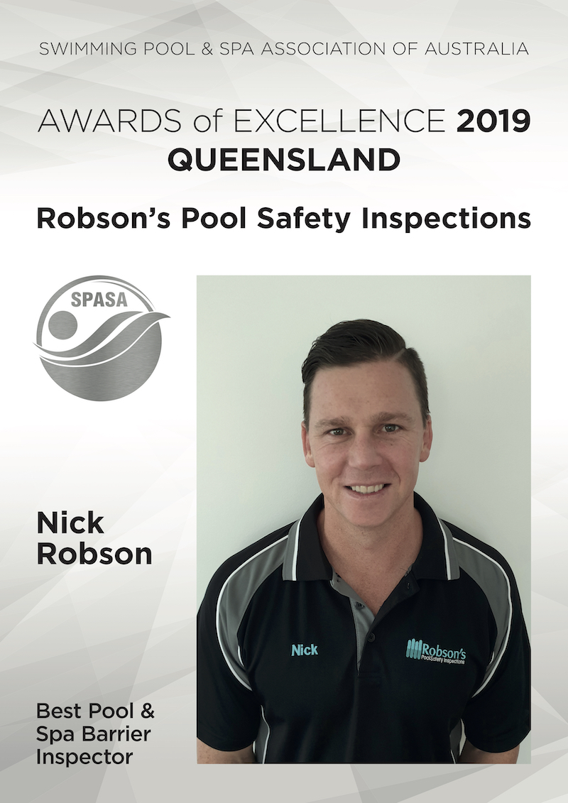 Robsons Pool Safety Inspections Award Winners 2019